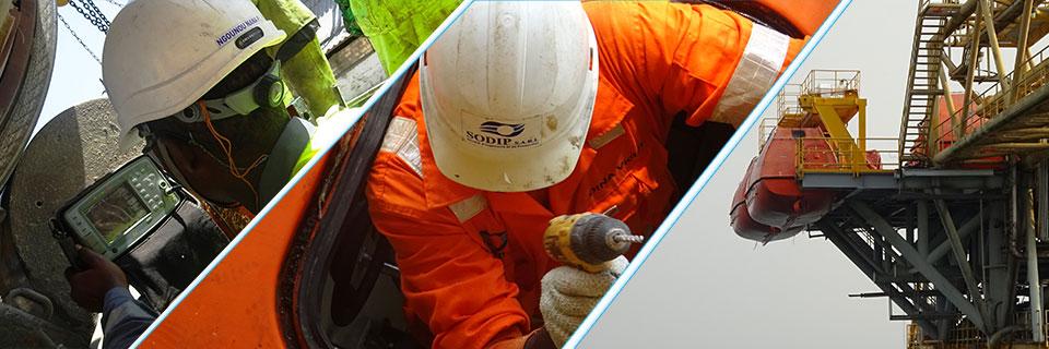 qualité, inspection radeaux de survie, maintenance radeaux de survie, SODIP SARL, normes internationales, ISO 9001